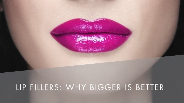 Why bigger lips are better