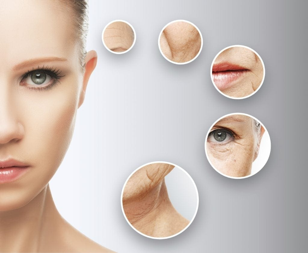 youthful skin after non-surgical treatment
