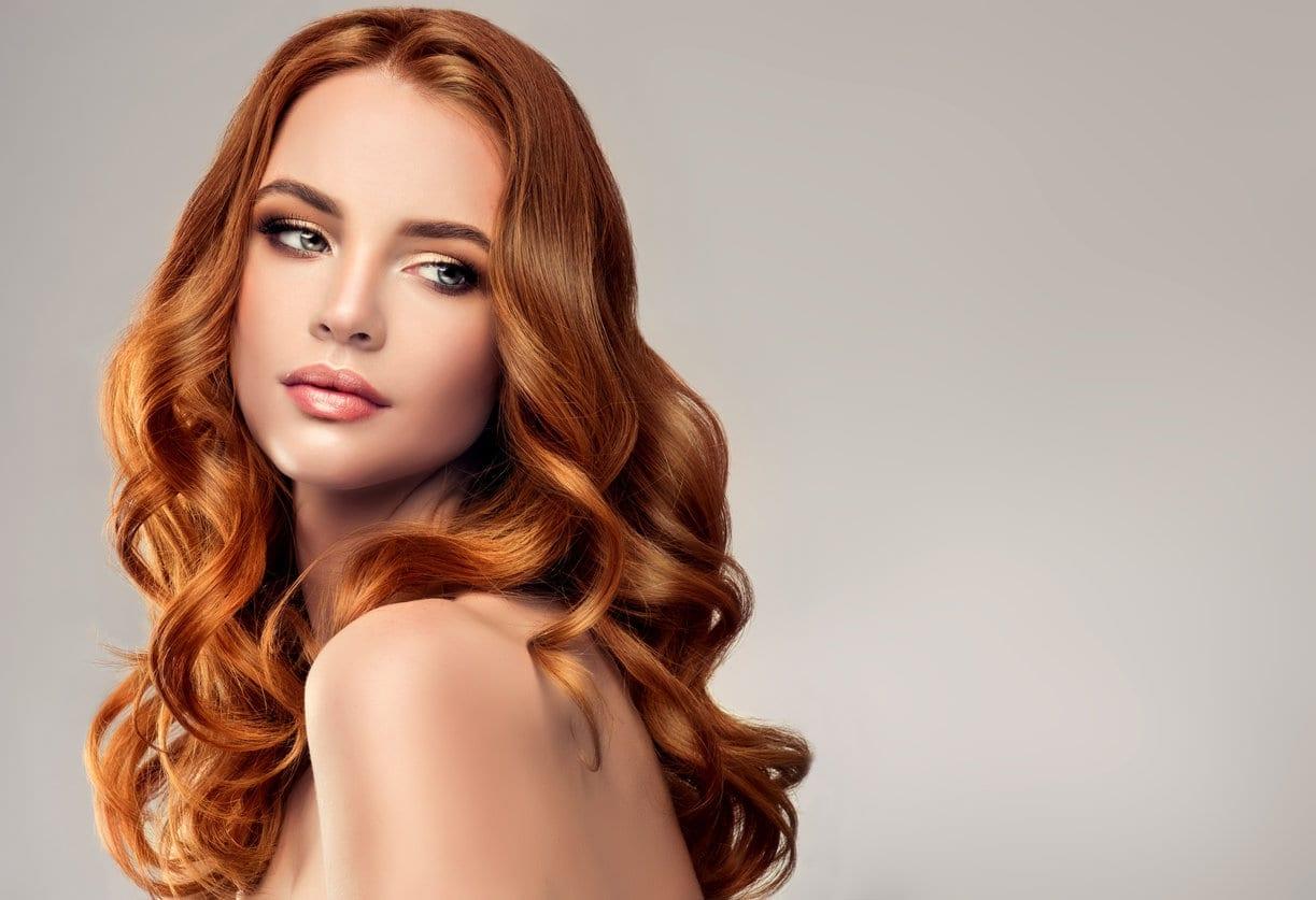 Beautiful Young Redheaded Woman