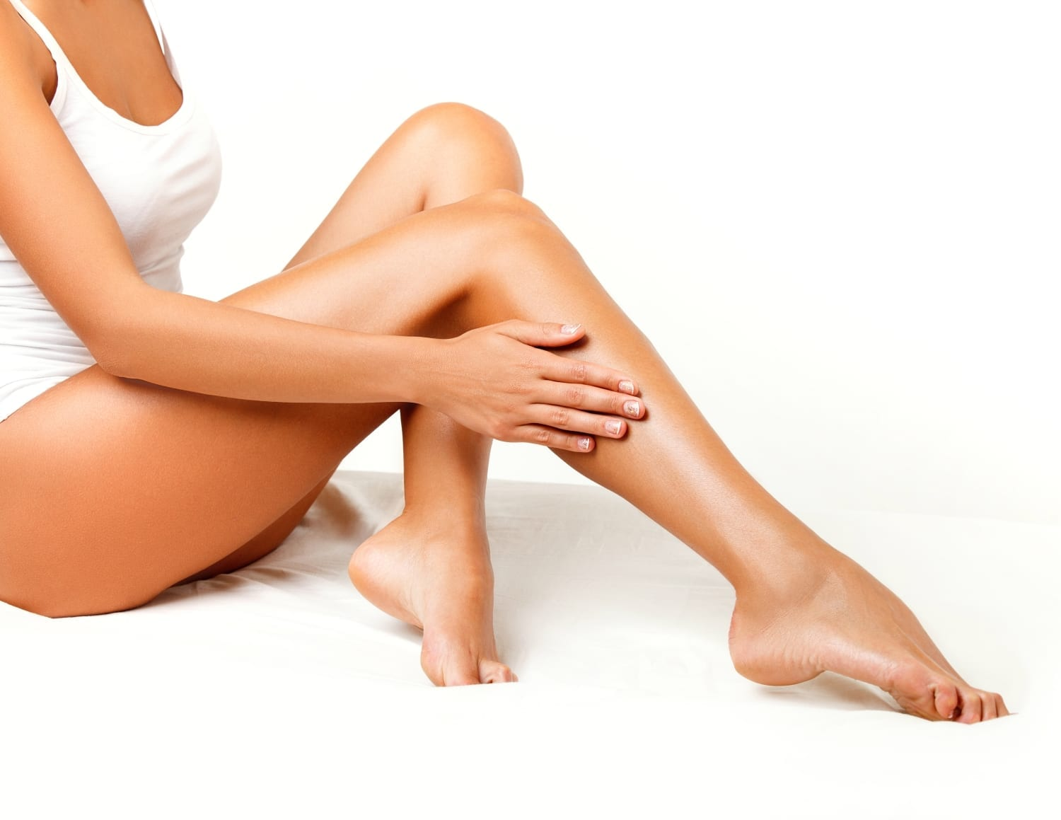 laser hair removal - women with silky smooth legs