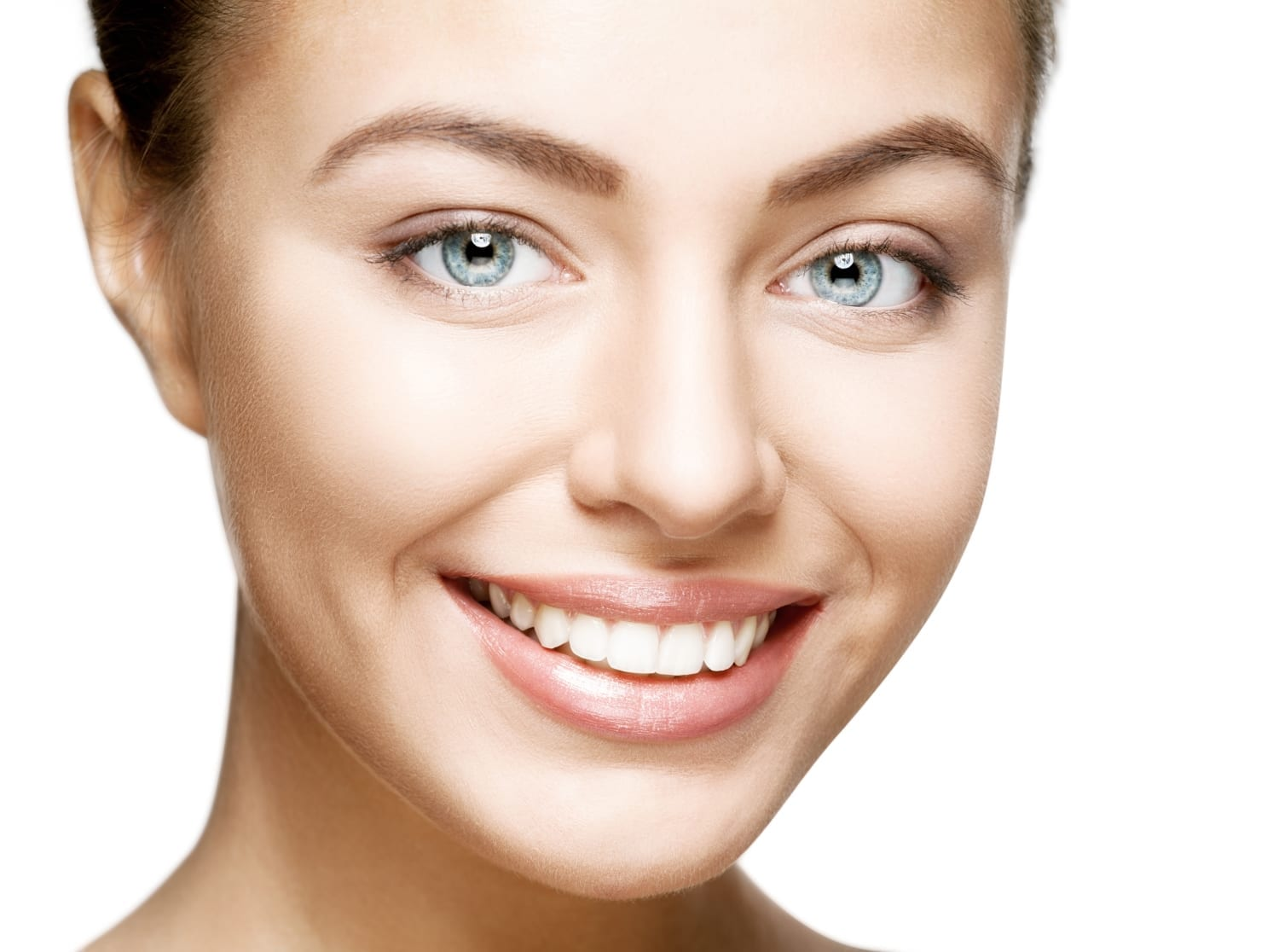 hydrafacial treatment - woman with clear skin