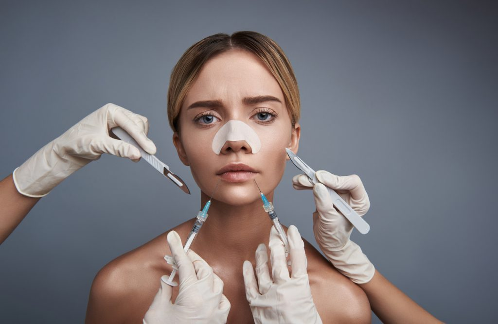 Woman pressured into cosmetic treatments